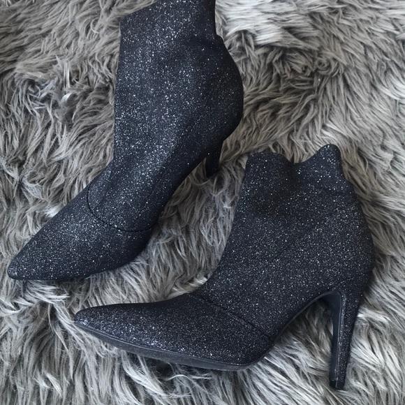 Glitter Stiletto Boots   Poshmark